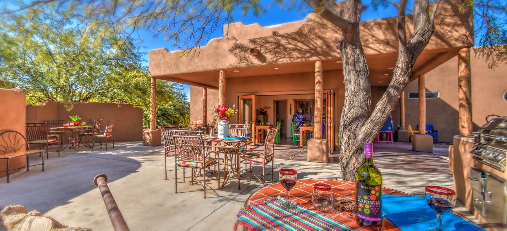 Saguaro Whispers patio